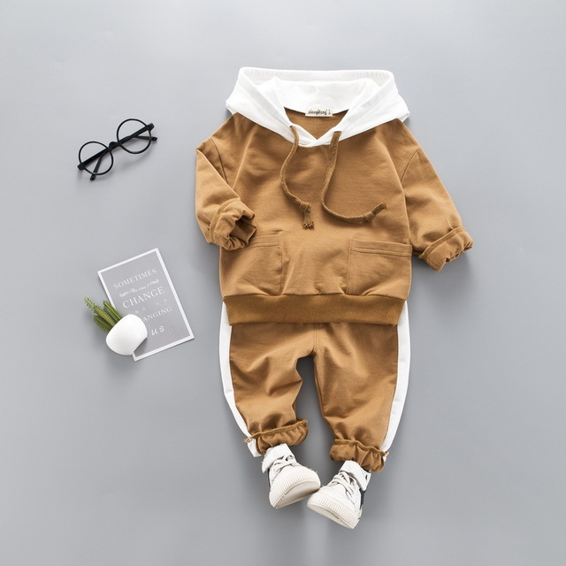 Toddler Clothes Hooded + Pant Clothing Sets 2 - 4 Year Kids 1