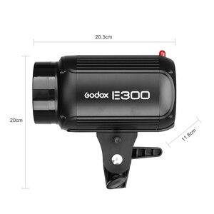Image 2 - Godox E300 300Ws fotografia błyskanie studyjne światło stroboskopowe + 50x70 cm plaster miodu + 180cm lekki statyw + AT 16 wyzwalacz Flash Kit