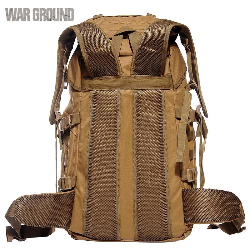 Sac à dos tactique pour hommes sac à dos tactique camouflage grande capacité sac à dos de marche - 5