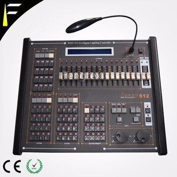 Top Sunny 512 konsola DMX w obsłudze PAN/nachylenie kółka muzyka sterownik oświetlenia ściemniania kolorowe ustawienie konsoli urządzenie biurko