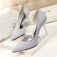 Sexy High Heels Frauen Schuhe zapatos Mujer Damen Schuhe Frauen Pumpen koreanische Mode Hochzeit Schuhe High Heels