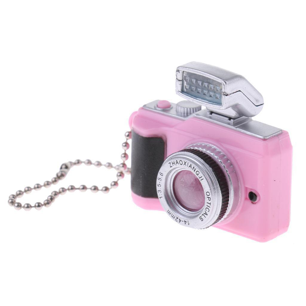 1:8 Scale Dollhouse Miniature Digital SLR Camera Dolls House Decoration Accessory