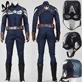 Disfraces de Halloween para adultos Capitán América 2 the winter soldier Cosplay superhero captain america traje adulto traje de steve