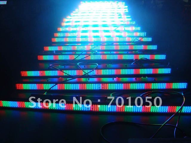 384 5mm Intelligent RGB LED Wall Washer Light