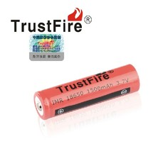 TrustFire IMR 18650 1500mah 3.7V Rechargeable Lithium Battery Batteries For LED Flashlights E-cigarettes Camera