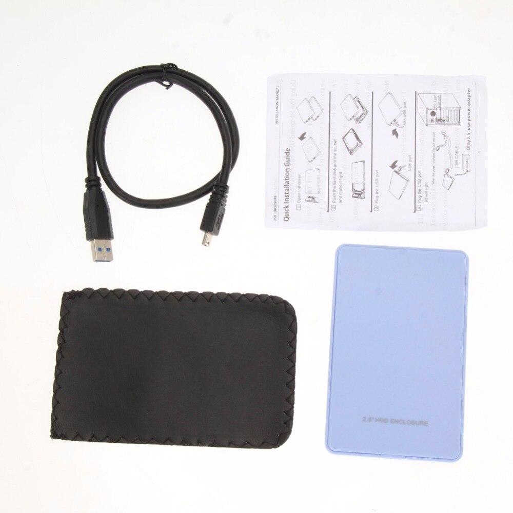 VAKIND 1 stks 2.5 Inch USB3.0 SATA HDD Externe Behuizing Box Case - Externe opslag - Foto 6