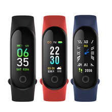 все цены на Smart Fitness Bracelet Tracker Watch Waterproof Pedometer Heart Rate Monitor Smartband Blood Pressure Band PK Xiaomi Mi Band 3 онлайн