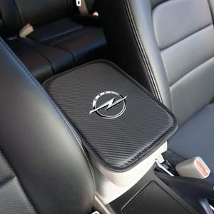 Image 4 - Alfombrilla protectora para compartimento de reposabrazos de coche, accesorios para OPEL, Insignia para Corsa, Astra, Antara, Meriva, Zafira