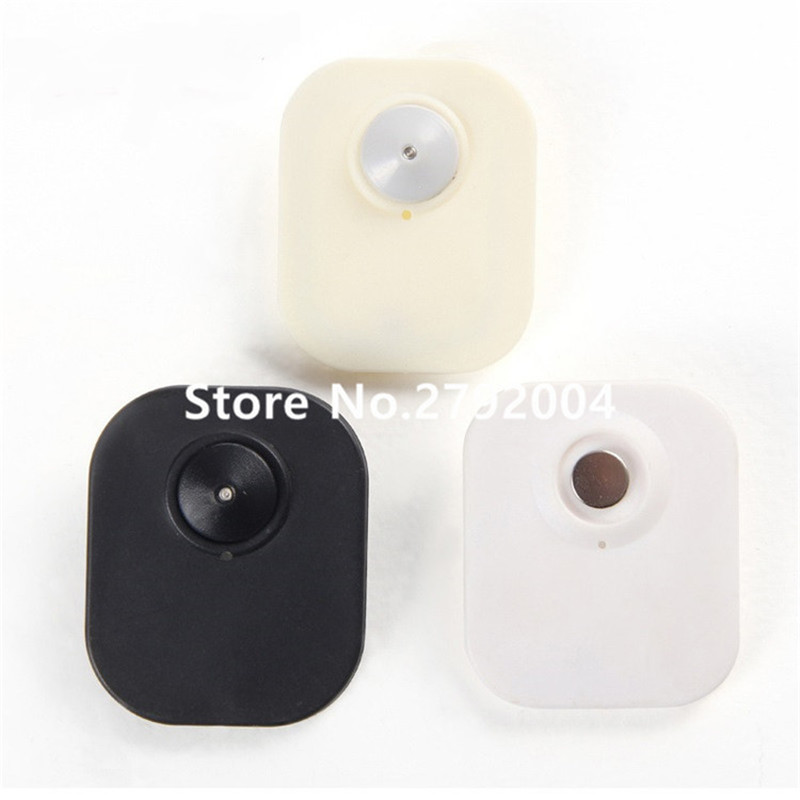 1000pcs/lot eas manufacturer 8.2MHZ clothing alarming security rf hard tag 65*55mm