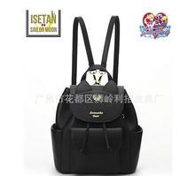 Hot sales! Women Backpack PU Leather Sailor Moon Backpack Black White Luna Cat Ladies Backpack Girls Travel Back Pack цена