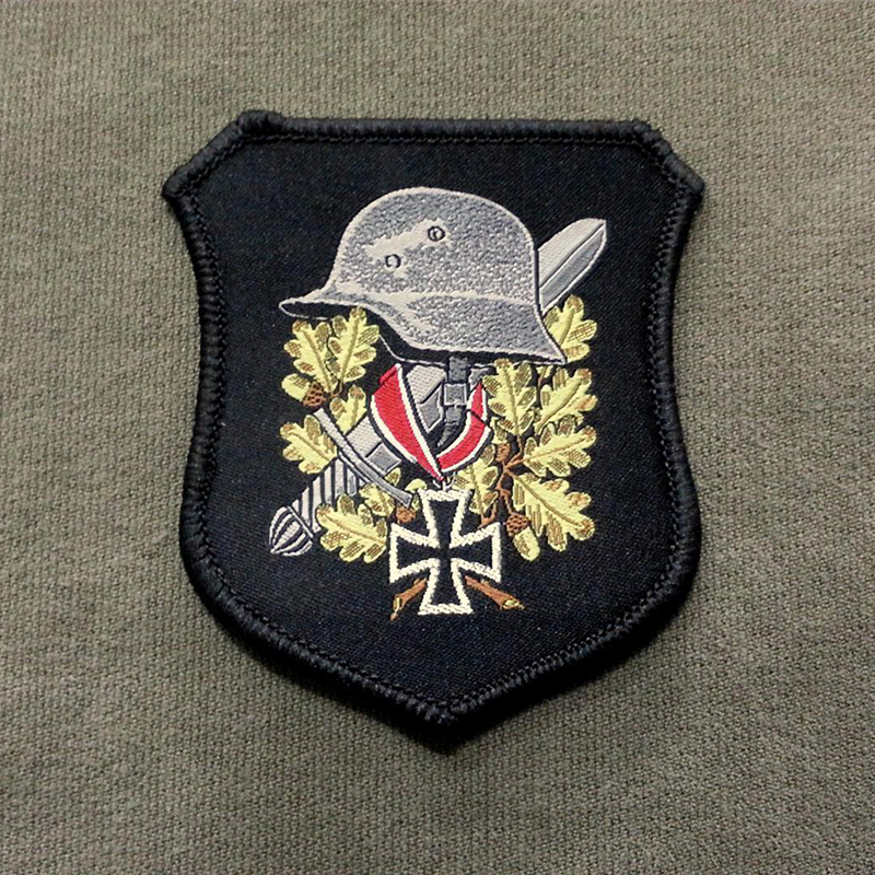 German Helmet Woven Patch муфты ганзена