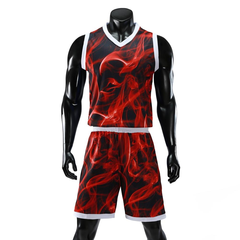 0ee397f78 Jerseys de baloncesto Colorfull para hombre y mujer conjuntos de uniformes  Kit de deportes camiseta ...