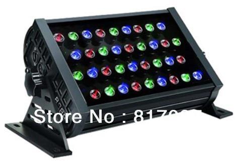 ACE освещение светодиодный Lavado de Pared 36 piezas 3W RGB iluminacion del edificio Wash 7DMX Licht effecten светодиодный verlichting IP65