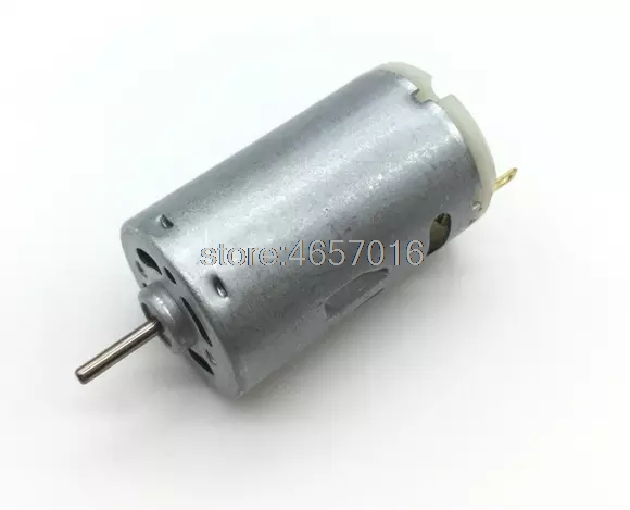 Original JOHNSON 395 motor 6V 12V 24V large power DC motor diameter 27.5mm ~ image