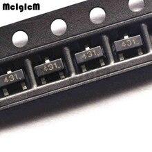 MCIGICM 50 шт. tl431 smd sot-23 tl431a sot23 Транзистор