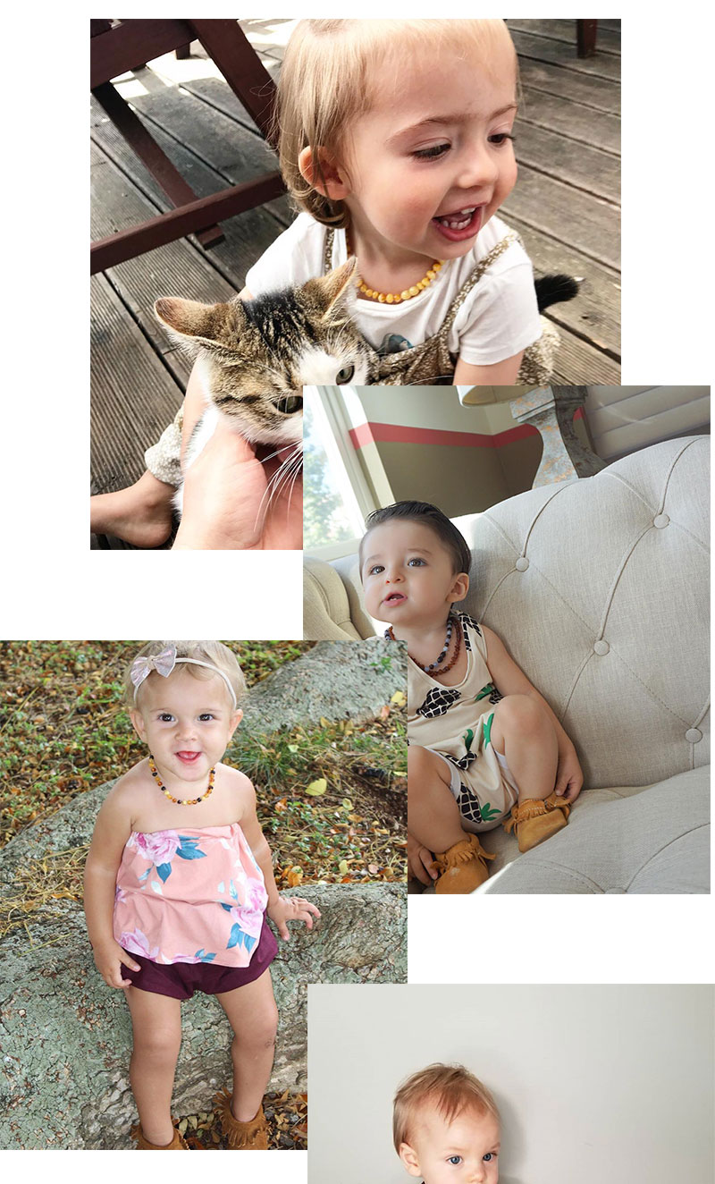 teething necklaces for toddlers