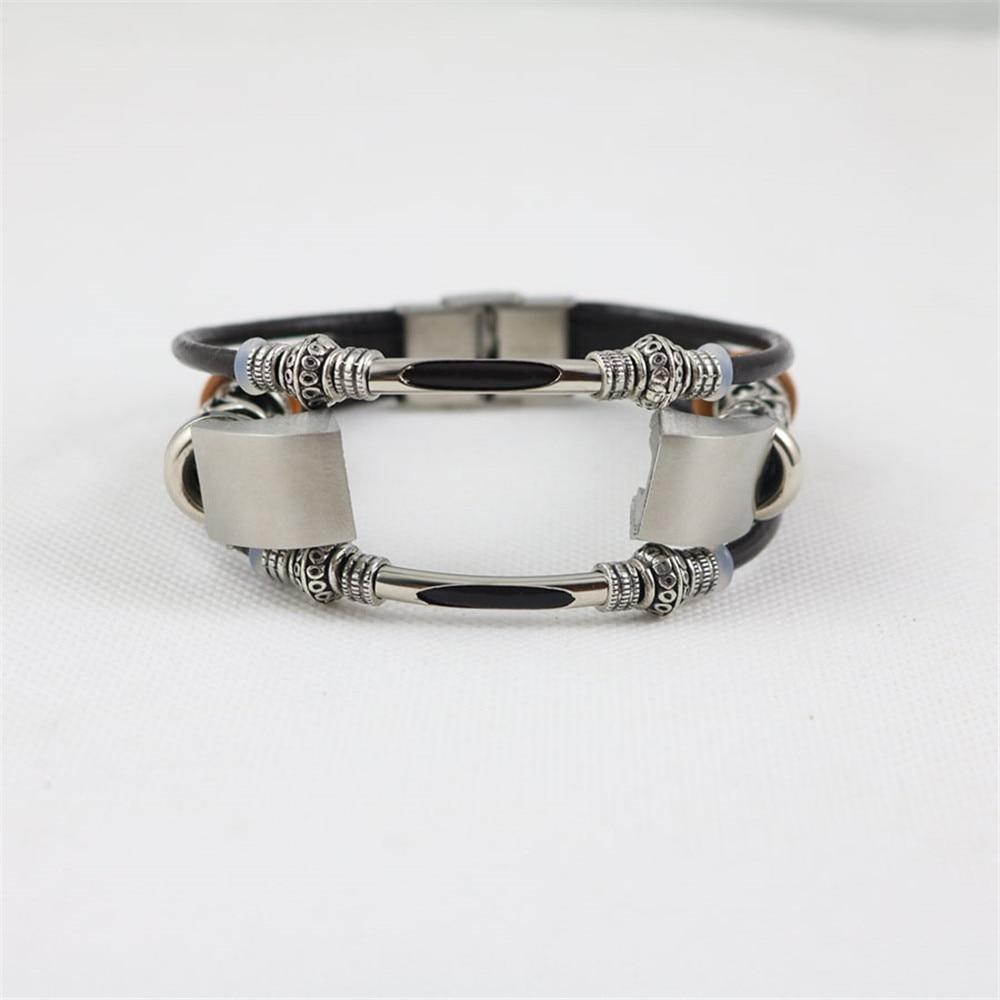 купить High Quality Replacement Leather Wristband Band Strap Bracelet For Fitbit Alta/Fitbit Alta HR Watchbands Correas de reloj bandje по цене 271.35 рублей