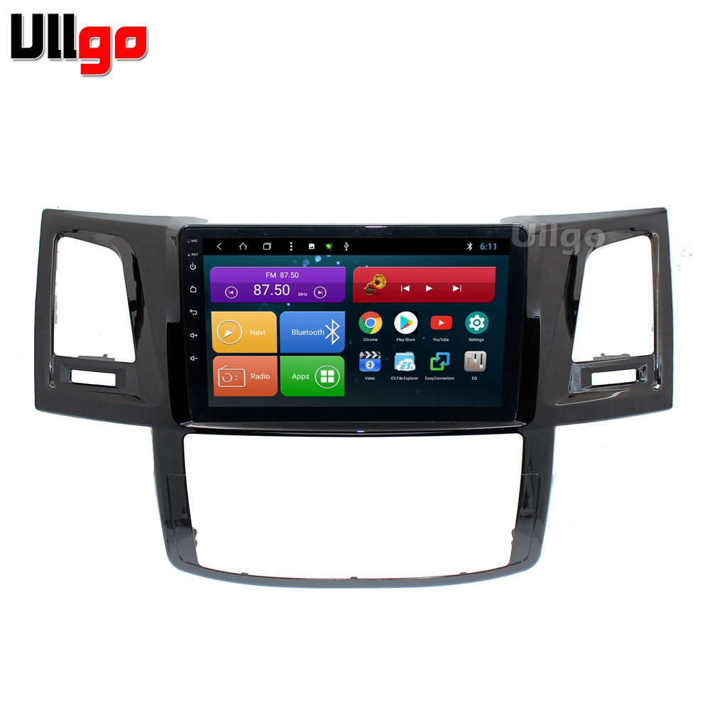 4G+64G Octa Core 9 Android 8.1 Car DVD GPS for Toyota Hilux Vigo Fortuner Autoradio GPS Head unit with RDS BT Mirrorlink Wifi4G+64G Octa Core 9 Android 8.1 Car DVD GPS for Toyota Hilux Vigo Fortuner Autoradio GPS Head unit with RDS BT Mirrorlink Wifi