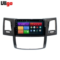 4G+64G Octa Core 9'' Android 8.1 Car DVD GPS for Toyota Hilux Vigo Fortuner Autoradio GPS Head unit with RDS BT Mirrorlink Wifi