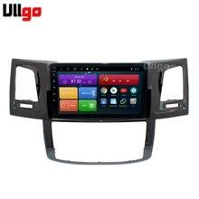 4 г + 64 Octa Core 9 »android 8,1 автомобильный DVD gps для Toyota Hilux Vigo Fortuner автомобильное радио с gps головное устройство с RDS BT Mirrorlink Wi Fi