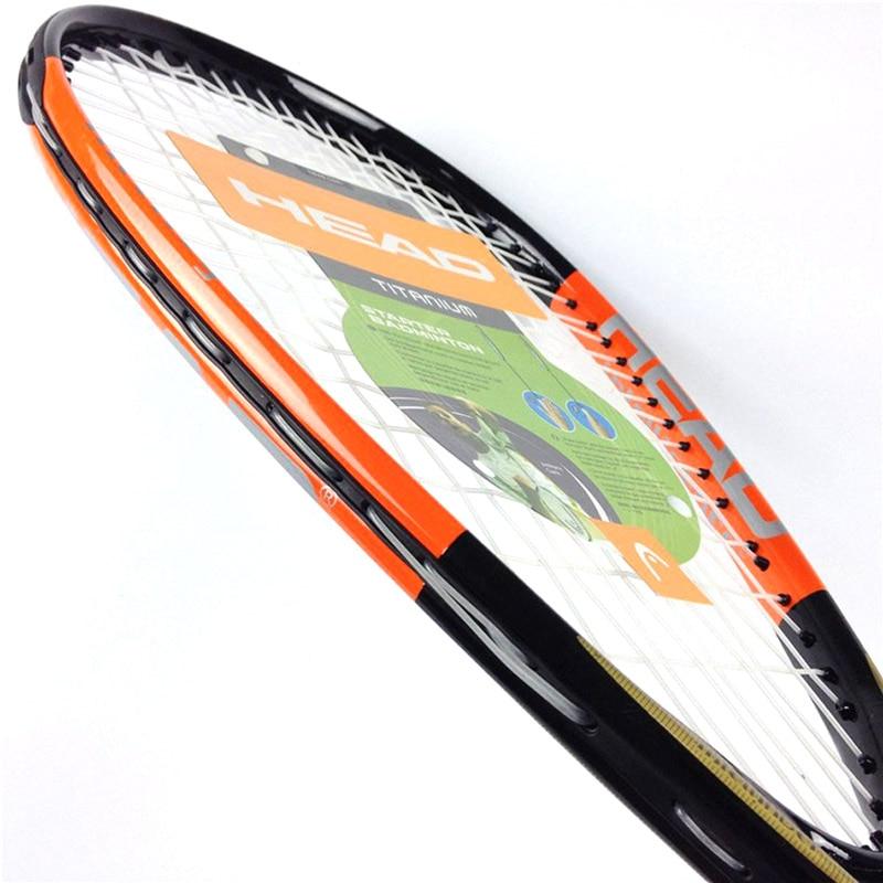 Unisex HEAD Composite Carbon Squash Racket Rackets Sport Training raquete de squash squash racquet With Original Racket Bag