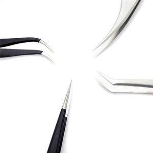 Image 5 - ملاقط أصلية 100% من إيوين سلسلة MCS مميزة لتمديد رموش العين ملاقط تجميل رقيقة للغاية