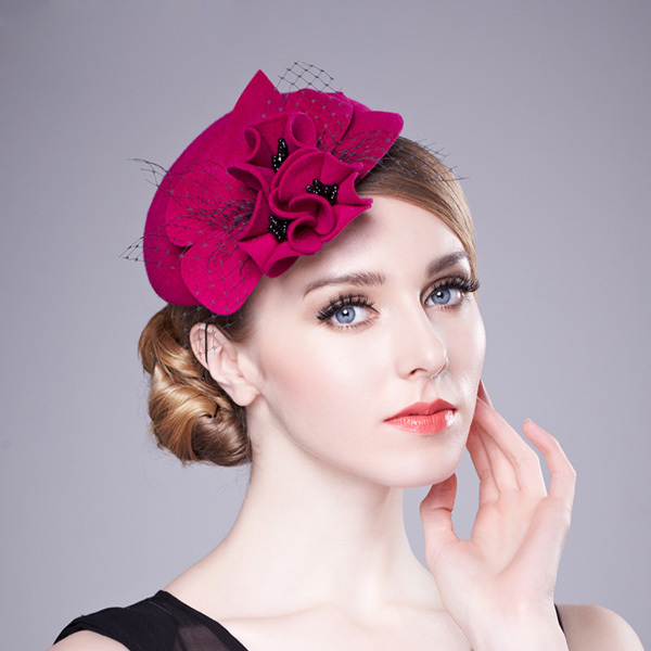 women s fedoras spring and autumn winter wedding bride hats fashion gauze  small fedoras-in Fedoras from Apparel Accessories on Aliexpress.com  05acd981d6d