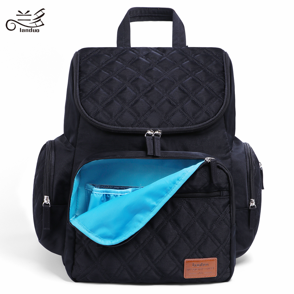 LAND Mommy Diaper Bags Mother Large Capacity Travel Nappy Backpacks with changing mat Convenient Baby Nursing Bags MPB37 1