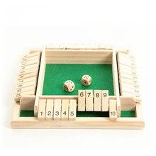 Четырехсторонняя флоп игра цифровая игра игрушка Дети родитель-ребенок Настольная игра бар вечерние Досуг азартная игра обучение и образование игрушки