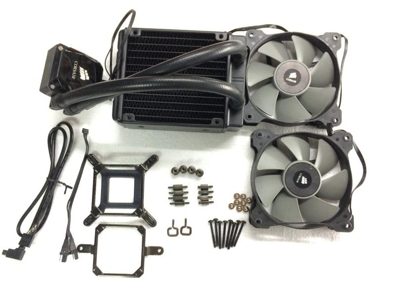 Fast Free Ship CPU cooling radiator for Pirate ships H80I water-cooled radiator support all platform