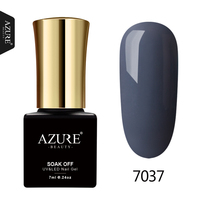 AZURE BEAUTY Grey Gel Varnishes Nail Gel Polish 60 Colors Soak Off Gel Varnish Need Lamp 7ml Enamel Azure Gel Nail Paint