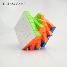 Colorful 6x6x6 Six Layers Puzzle Cube Profissional Competition Speed Cubo Non Stickers Magico Cool Toy For Children Adult