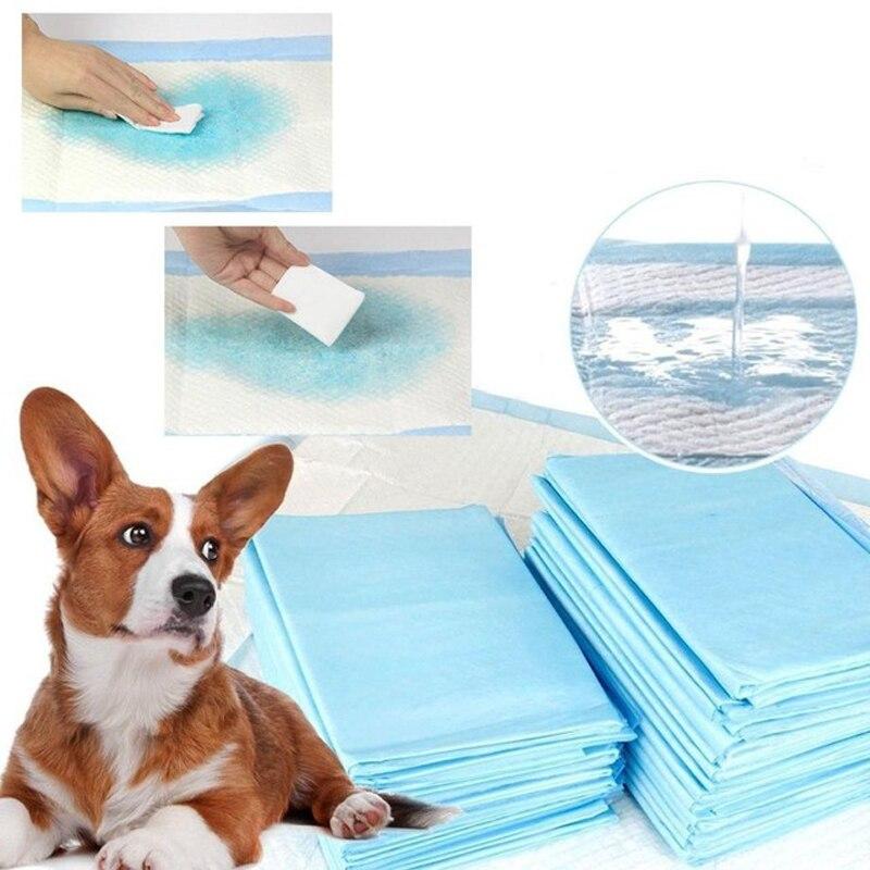 20/50/100PCS Multi - Size Pet Diaper Pet Dog Super Absorbent Urine Training Pad Antibacterial Deodorant Pet Dog Diaper