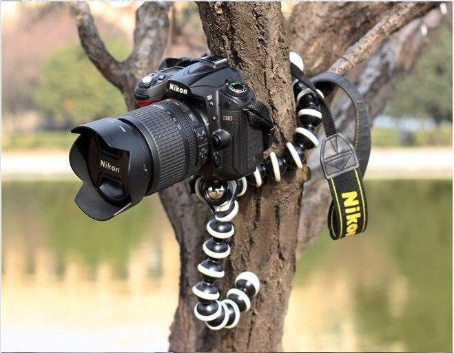 2018 Large Octopus Flexible Tripod Stand Gorillapod for Gopro Hero 4/ 3+/ 3 sj40/Camera Digital DV Canon Nikon Mobile Phone