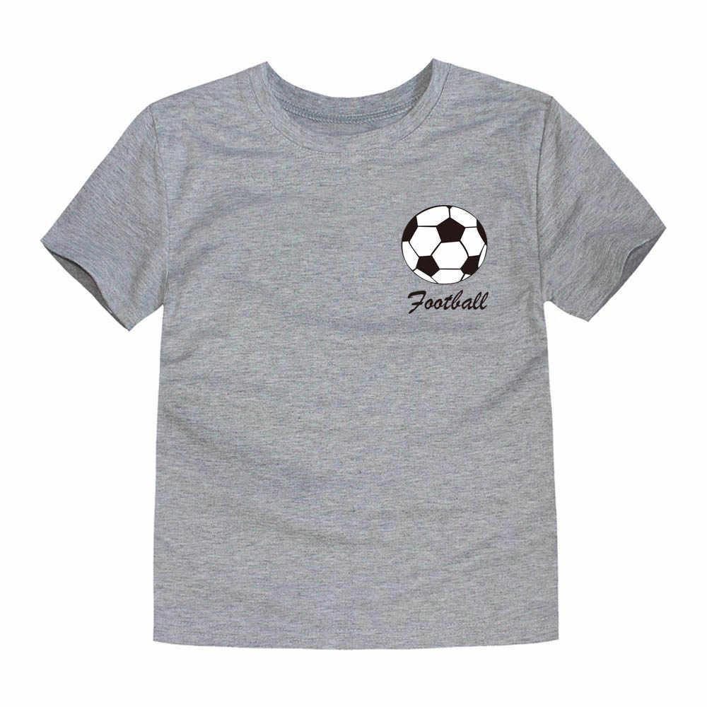 2019 sommer Jungen Team Kleidung Kinder Fußball Team T Shirts Jungen T-shirts Kinder Kleidung Mädchen T Shirts für 1- 14 jahre