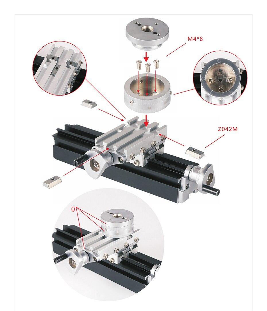 Tz20002mr diy bigpower mini metal rotativo torno,