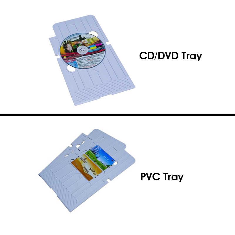 Inkjet PVC ID Card Tray CD/PVC card tray untuk CD/kartu PVC