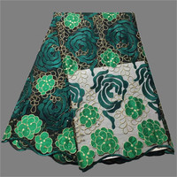 New coming party French embroidery net lace fabric for making lady dress VVN165(5yards/lot) many color