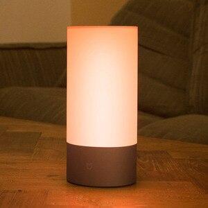 Image 2 - シャオ mi mi 嘉 mi Yeelight ベッドサイドランプテーブルデスクスマート屋内ライト 16 mi llion RGB タッチコントロール Bluetooth wifi mi ホームアプリ