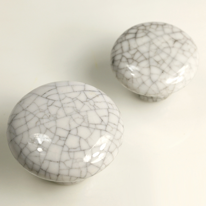 10PCS 38mm Ceramic Modern Kitchen Cabinet Furniture Handle Knob Crackled  Cream Solid Porcelain Knob In Cabinet Pulls From Home Improvement On  Aliexpress.com ...