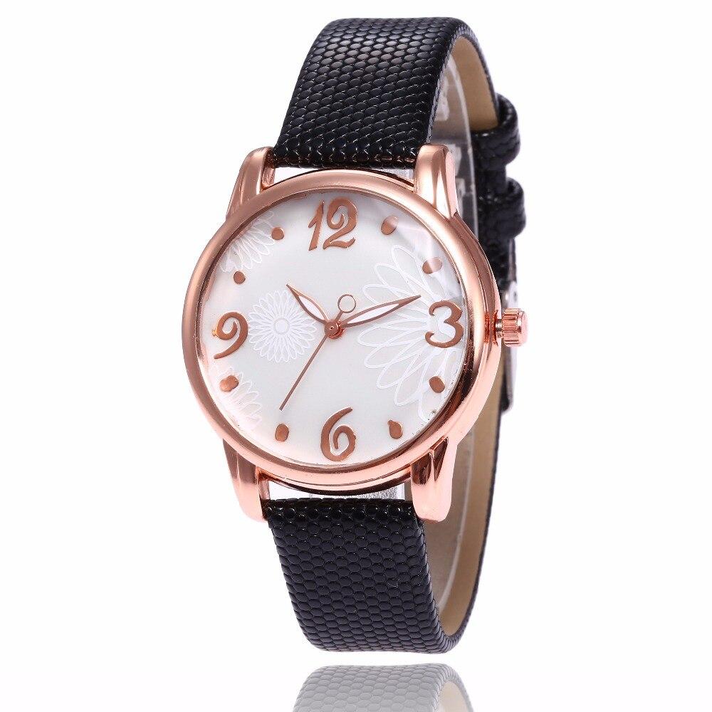 Watch Women Leather band Clock 2018 Casual Analog Quartz Wrist Watch womens wristwatch Ladies watches gift relogio feminino