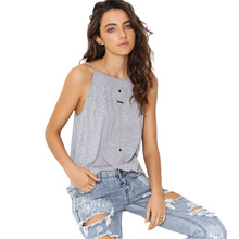 Casual Sexy Backless Summer Tank Tops