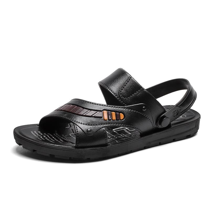 2018 Shoes man beach slippers chanclas infradito uomo zuecos enfermera erkek ayakkabi deri esparto zapatillas hombre deportiva