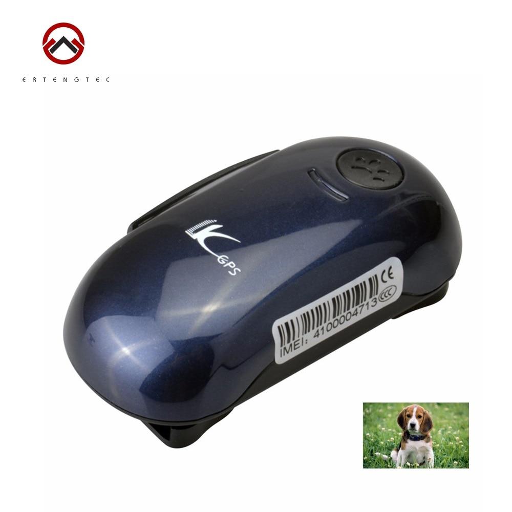 Mini Pet font b GPS b font Tracker LK100 Dog Cat Necklace Locator Waterproof IPX 6