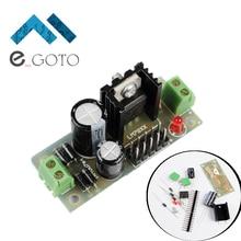 L7805 LM7805 DIY Kit Питание Регулятор модуль Шаг Подпушка 7.5 В-35 В до 5 В понижающий преобразователь электронные наборы Запчасти