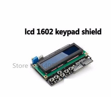 10Pcs LCD Keypad Shield LCD1602 LCD 1602 Module Display For Arduino ATMEGA328 ATMEGA2560 raspberry pi UNO blue screen