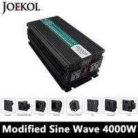 Сетка Tie 4000 Вт изменение синусоидальный инвертор, DC 12 В/24 В/48 В к AC110V/220 В, решетки солнечных инвертор, преобразователь напряжения