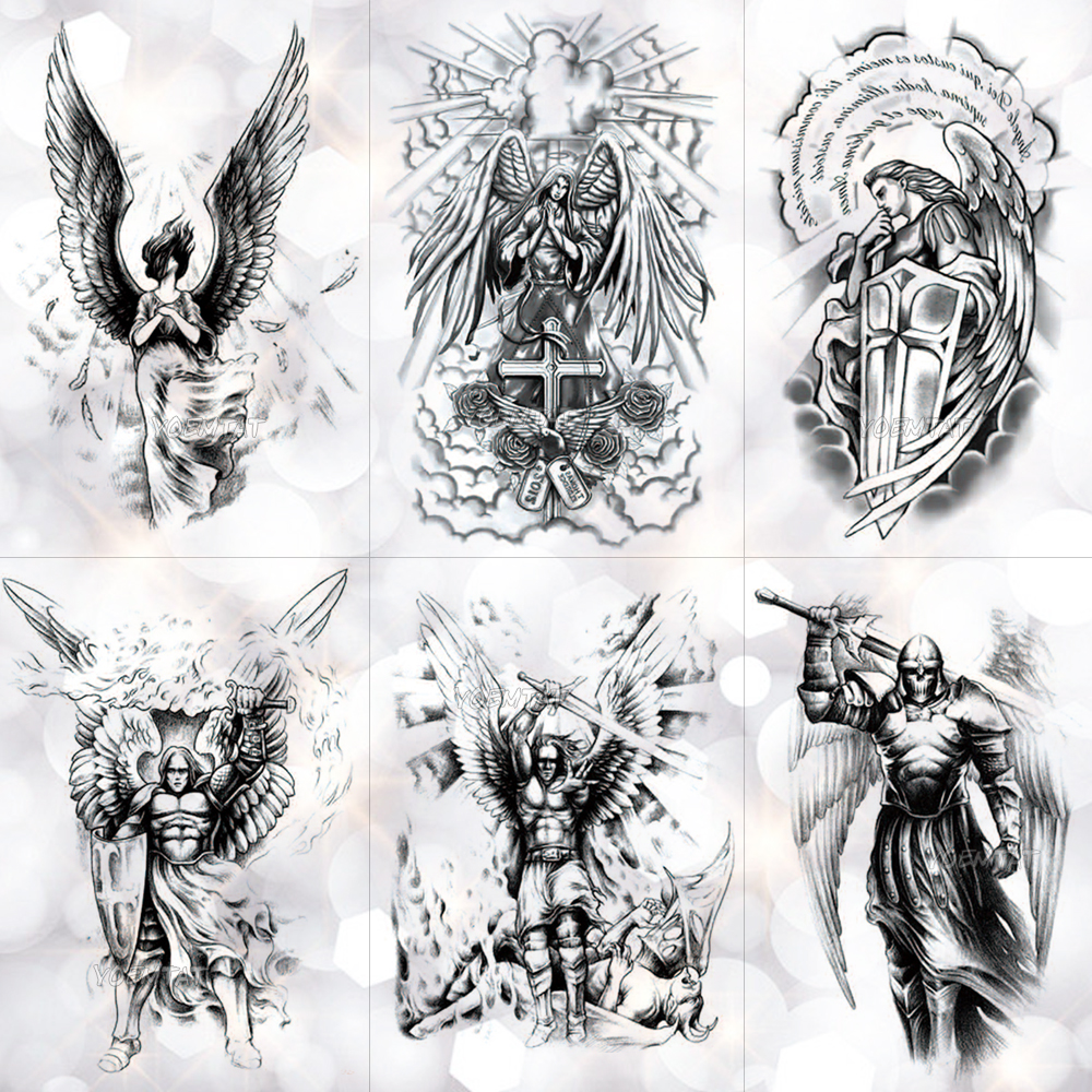 f0758d82e64 🛒HOT SALE | Black 3D Sexy Fake Transfer Tattoo Chest Clock Tatoos ...