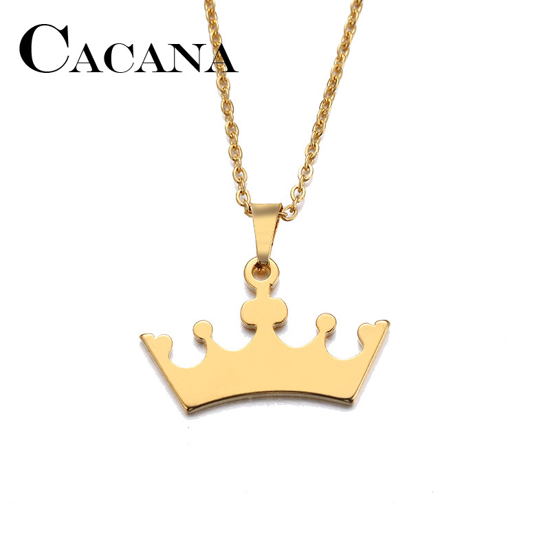 Cacana Stainless Steel Necklace For