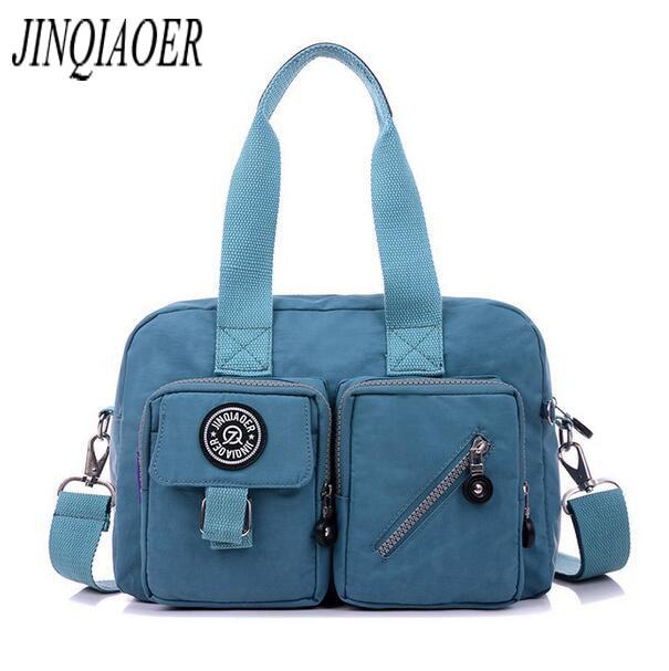 2f332b81cc0d Jinqiaoer 2017 Для женщин Сумки Курьерские сумки женские дизайнерские  высокое качество плечо сумка через плечо мешок основной 917